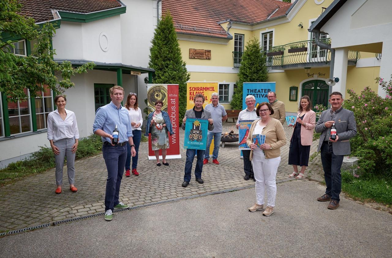 Der Festivalwein Litschau 2021 ist ausgekostet